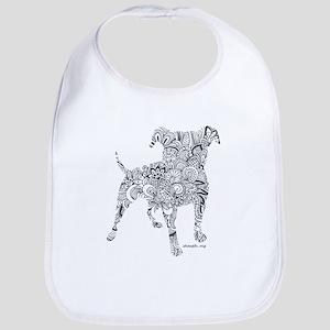 Design SPBR Dog Baby Bib