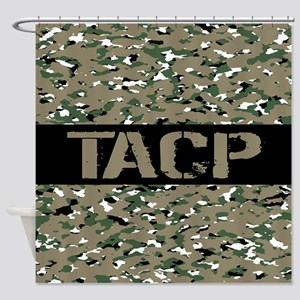 U.S. Air Force: TACP (Camouflage) Shower Curtain