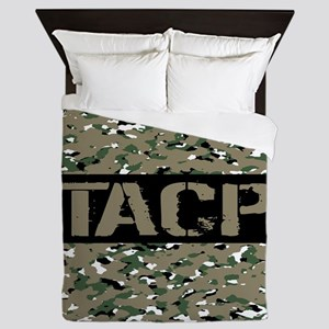 U.S. Air Force: TACP (Camouflage) Queen Duvet