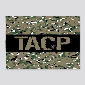 U.S. Air Force: TACP (Camouflage) 5'x7'Area Rug