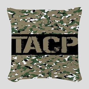 U.S. Air Force: TACP (Camoufla Woven Throw Pillow