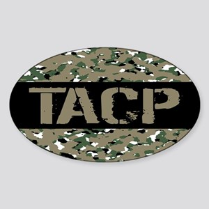 U.S. Air Force: TACP (Camouflage) Sticker (Oval)