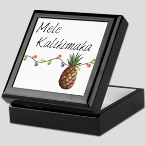 Mele Kalikimaka - Hawaiian Christmas Keepsake Box