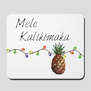 Mele Kalikimaka - Hawaiian Christmas Mousepad