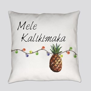 Mele Kalikimaka - Hawaiian Christm Everyday Pillow