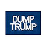 Dump Trump Blue Magnets