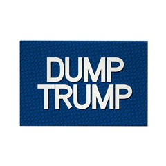 Dump Trump Blue Magnets