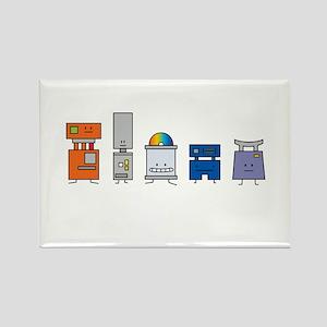 Happy Robots Magnets