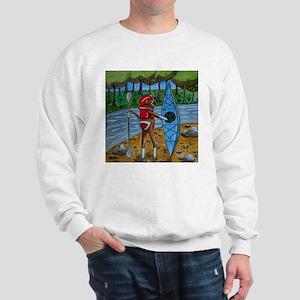 Kayak Sock Monkey Sweatshirt