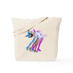 skaterinwind2 Tote Bag