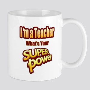 Super Power-Teacher Mugs
