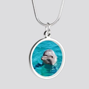Dolphin Blue Water Necklaces