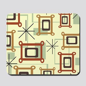 1950s Abstract Pop Art Mousepad
