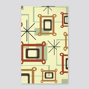 1950s Abstract Pop Art Area Rug