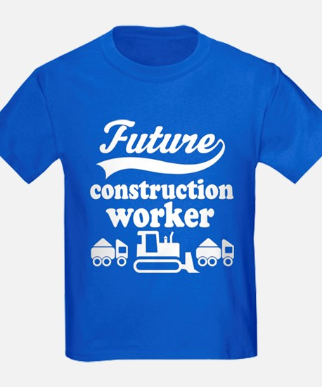 Future Construction Worker T-Shirt