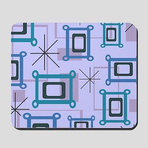 1950s Abstract Pop Art Mousepad