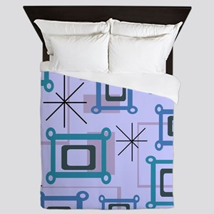 1950s Abstract Pop Art Queen Duvet