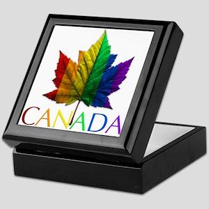 Gay Pride Canada Souvenir Keepsake Box
