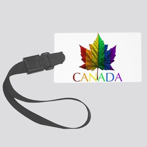 Gay Pride Canada Souvenir Large Luggage Tag
