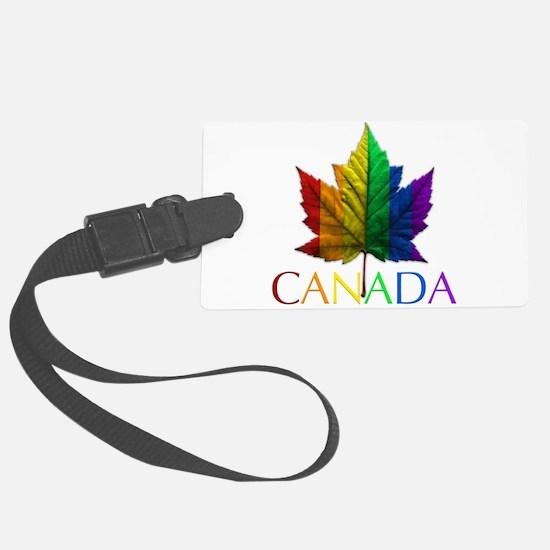 Gay Pride Canada Souvenir Luggage Tag