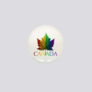 Gay Pride Canada Souvenir Mini Button