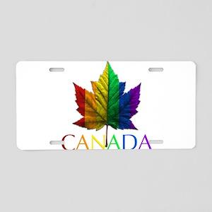 Gay Pride Canada Souvenir Aluminum License Plate