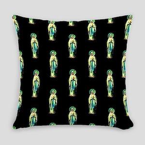 Cult of Santa Muerte Everyday Pillow