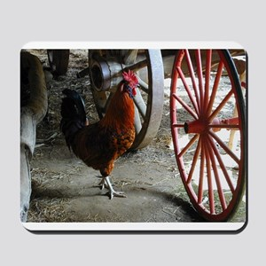 Country Rooster Mousepad