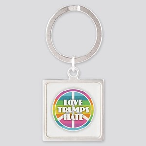 Love Trumps Hate Keychains