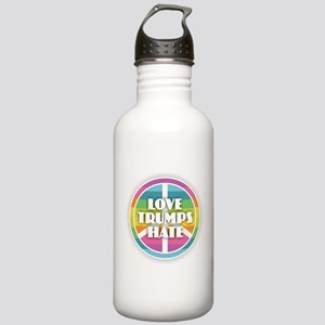 Love Trumps Hate Stainless Water Bottle 1.0L