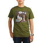 Turkey Shoot Organic Men's T-Shirt (dark)