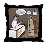 Turkey Shoot Throw Pillow