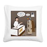 Turkey Shoot Square Canvas Pillow
