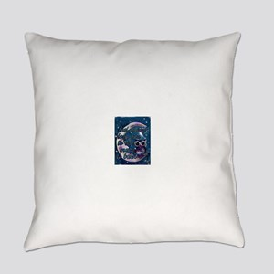 Owl always love u moon & back Everyday Pillow