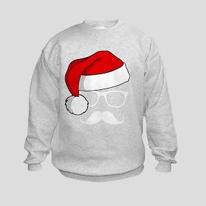Christmas Mustache Nerd Sweatshirt