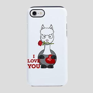 i love you alpaca iPhone 8/7 Tough Case