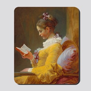 Young Girl Reading by Jean-Honoré Fragonard Mousep
