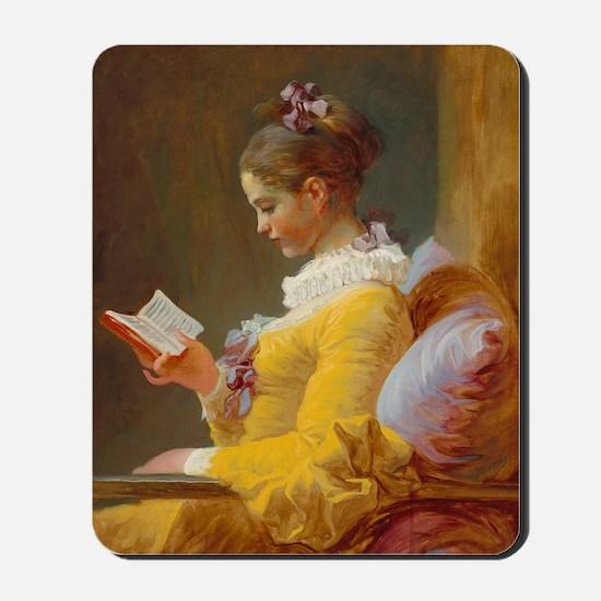 Young Girl Reading by Jean-Honoré Fragonard Mousep