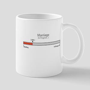 Progress Bar Marriage 20 - Mugs