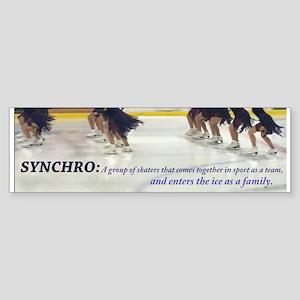 Synchro Defined Bumper Sticker