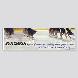 Synchro Defined Bumper Sticker