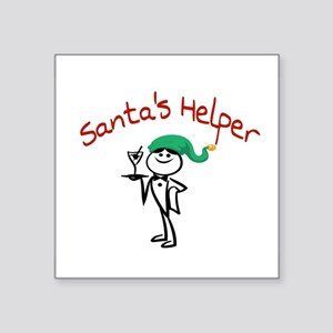 Santa's Helper Sticker