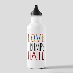 Love Trumps Hate Water Bottle