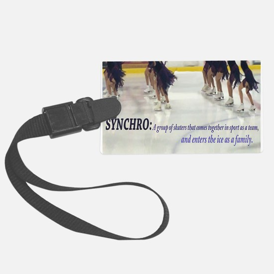 Synchro Defined 3 Luggage Tag