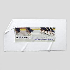 Synchro Defined 3 Beach Towel