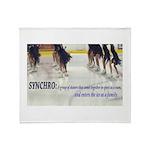 Synchro Defined 3 Throw Blanket