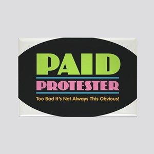 Paid Protester Magnets