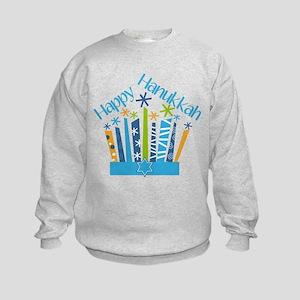 Happy Hanukkah Candles Sweatshirt