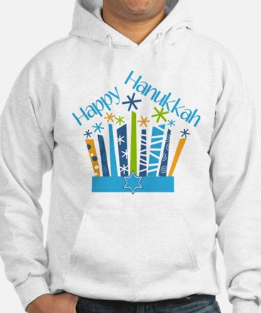 Happy Hanukkah Candles Sweatshirt