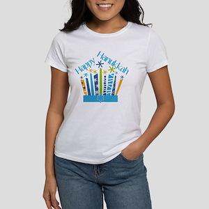 Happy Hanukkah Candles T-Shirt